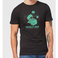 Totally Rad Christmas Men's T-Shirt - Black - L - Black from Christmas