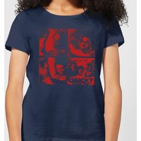 Chucky Family Photo Women's T-Shirt - Navy - L - Navy from Chucky