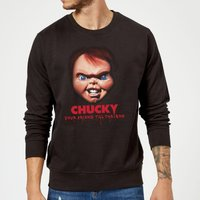 Chucky Friends Till The End Sweatshirt - Black - XXL - Black from Chucky