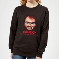 Chucky Friends Till The End Women's Sweatshirt - Black - M - Black from Chucky