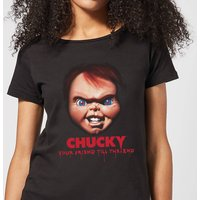 Chucky Friends Till The End Women's T-Shirt - Black - S - Black from Chucky