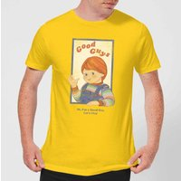 Chucky Good Guys Retro Men's T-Shirt - Yellow - XL - Yellow from Chucky
