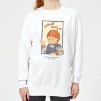 Chucky Good Guys Retro Women's Sweatshirt - White - M - White from Chucky