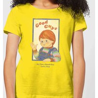 Chucky Good Guys Retro Women's T-Shirt - Yellow - XL - Yellow from Chucky