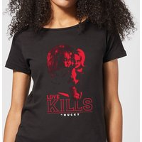 Chucky Love Kills Women's T-Shirt - Black - L - Black from Chucky