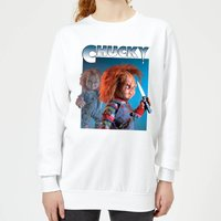 Chucky Nasty 90's Women's Sweatshirt - White - XXL - White from Chucky