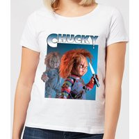 Chucky Nasty 90's Women's T-Shirt - White - XXL - White from Chucky