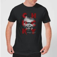 Chucky Play Time Men's T-Shirt - Black - L - Black from Chucky