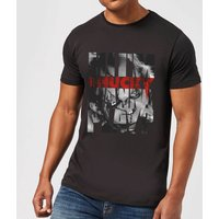 Chucky Typographic Men's T-Shirt - Black - M - Black from Chucky