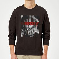 Chucky Typographic Sweatshirt - Black - S - Black from Chucky