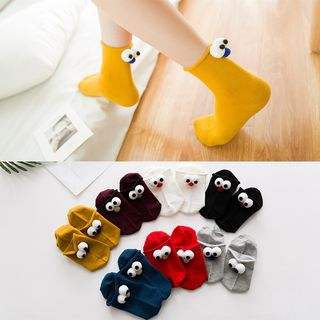 Cartoon Eye Socks from Cloud Femme