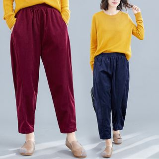 Corduroy Harem Pants from Clover Dream