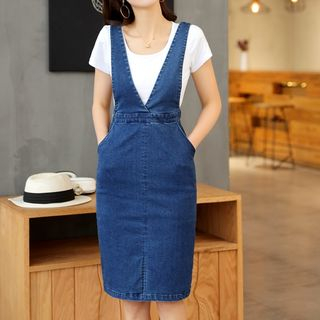 Dungaree Dress from Cobogarden