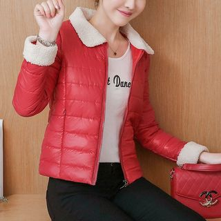 Peter Pan Collar Padded Jacket from Cobogarden