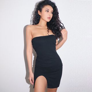 Slited Tube Dress from Colada