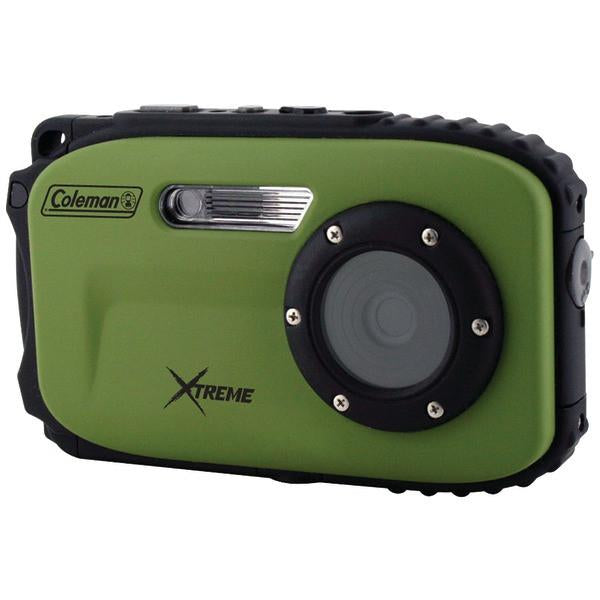 Coleman C5WP-G 12.0-Megapixel Xtreme Waterproof Digital Camera (Green) from Coleman