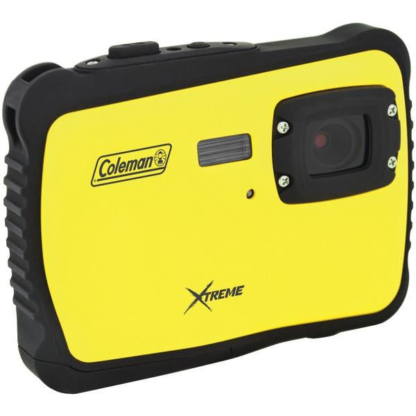 Coleman C6WP-Y 12.0-Megapixel MiniXtreme HD Video Waterproof Digital Camera (Yellow) from Coleman