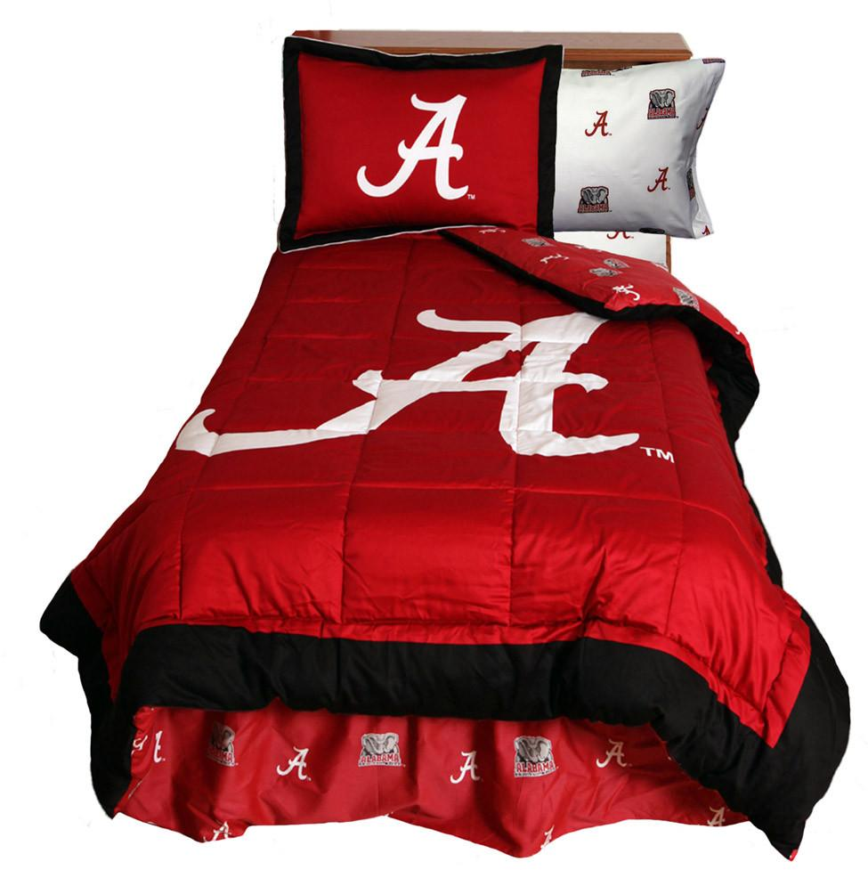 Alabama Reversible Comforter Set - Queen - ALACMQU by College Covers from College Covers