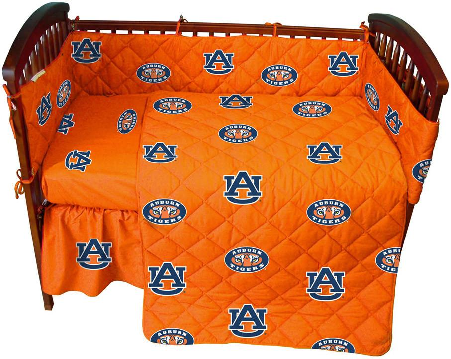 Auburn 5 piece Baby Crib Set  - AUBCS by College Covers from College Covers