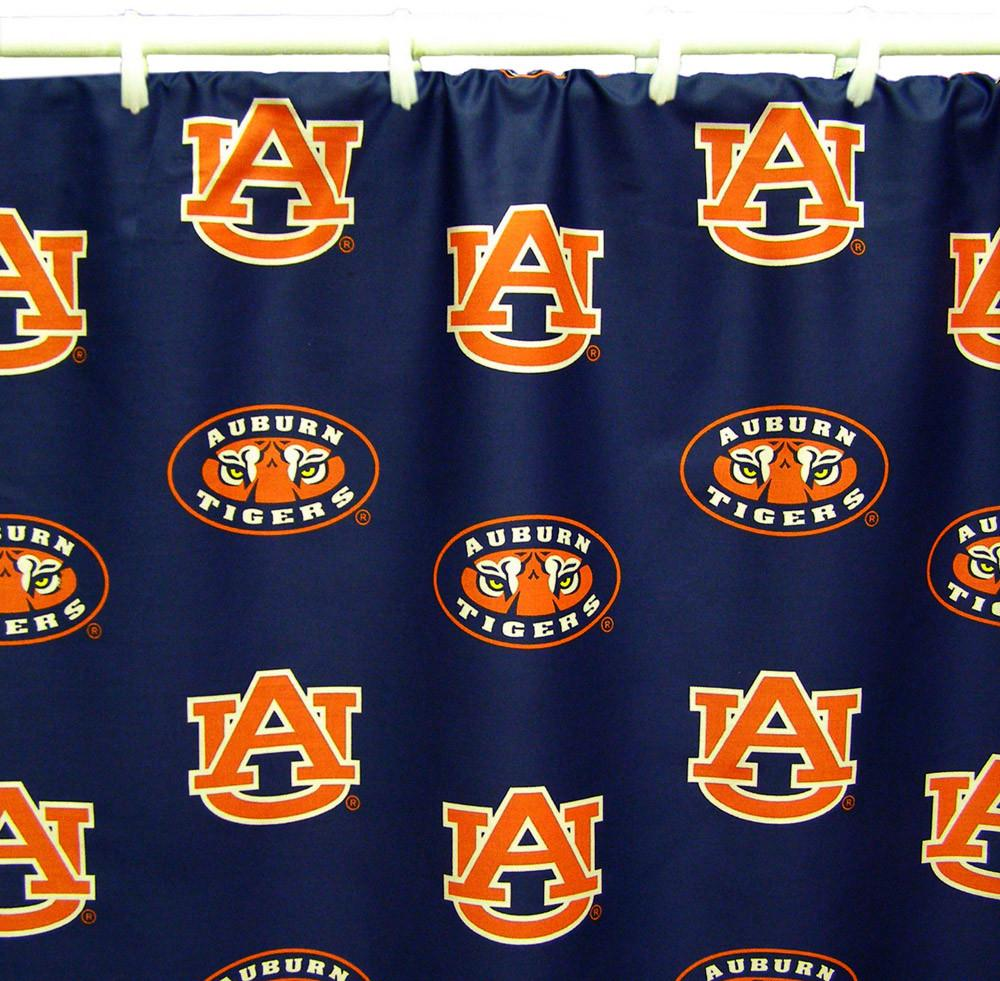 "Auburn Printed Shower Curtain Cover 70"" X 72"" - AUBSC by College Covers from College Covers"