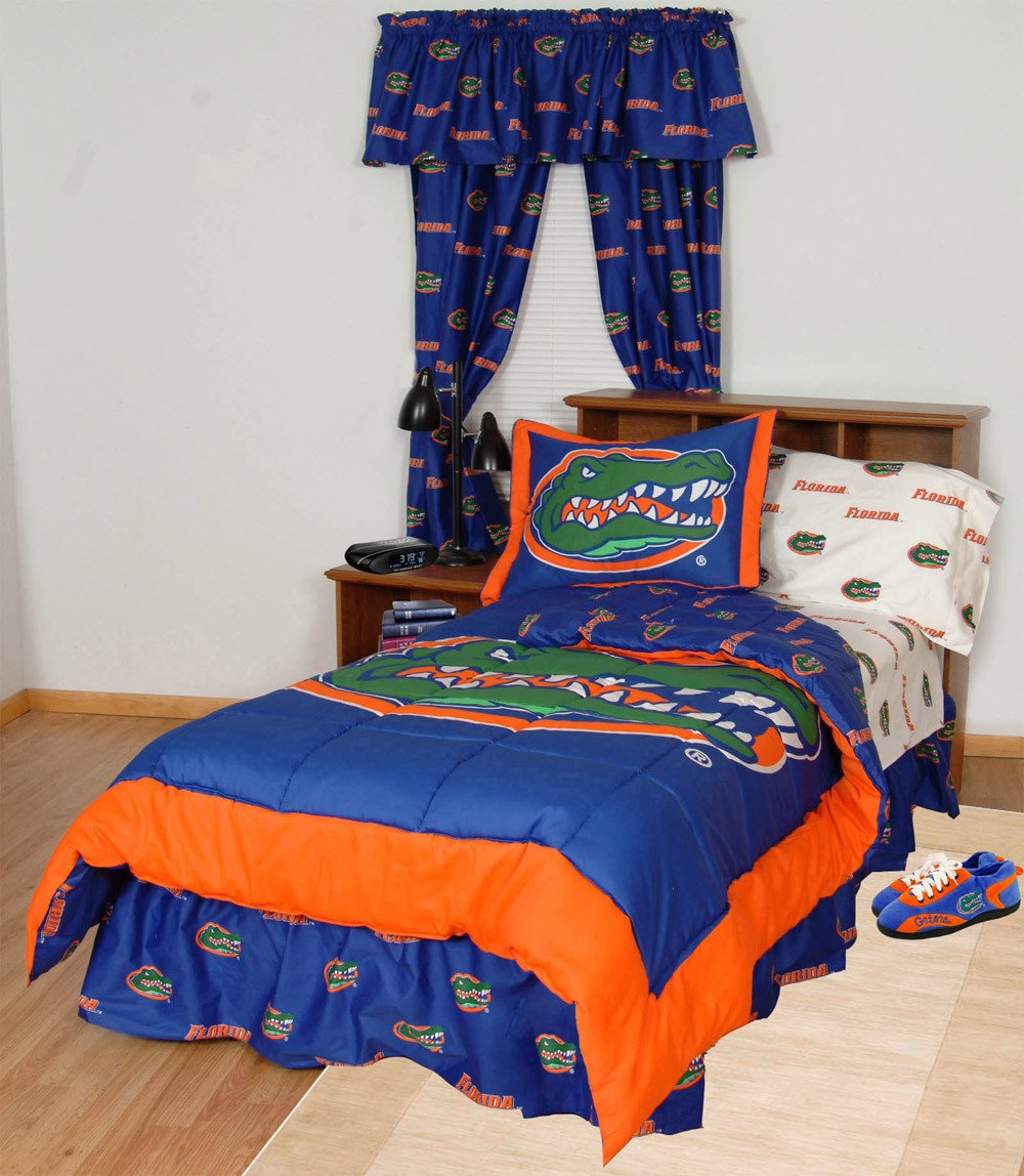 Florida Bed in a Bag Queen - With White Sheets - FLOBBQUW by College Covers from College Covers