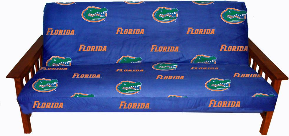 Florida Futon Cover - Full Size fits 8 and 10 inch mats - FLOFC by College Covers from College Covers
