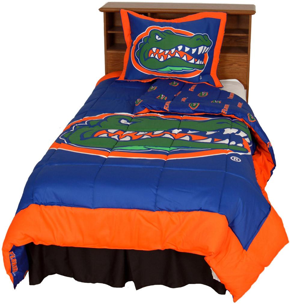 Florida Reversible Comforter Set -King - FLOCMKG by College Covers from College Covers
