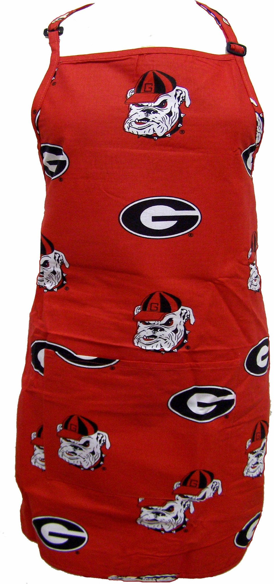 "Georgia Apron 26""X35"" with 9"" pocket - GEOAPR by College Covers from College Covers"