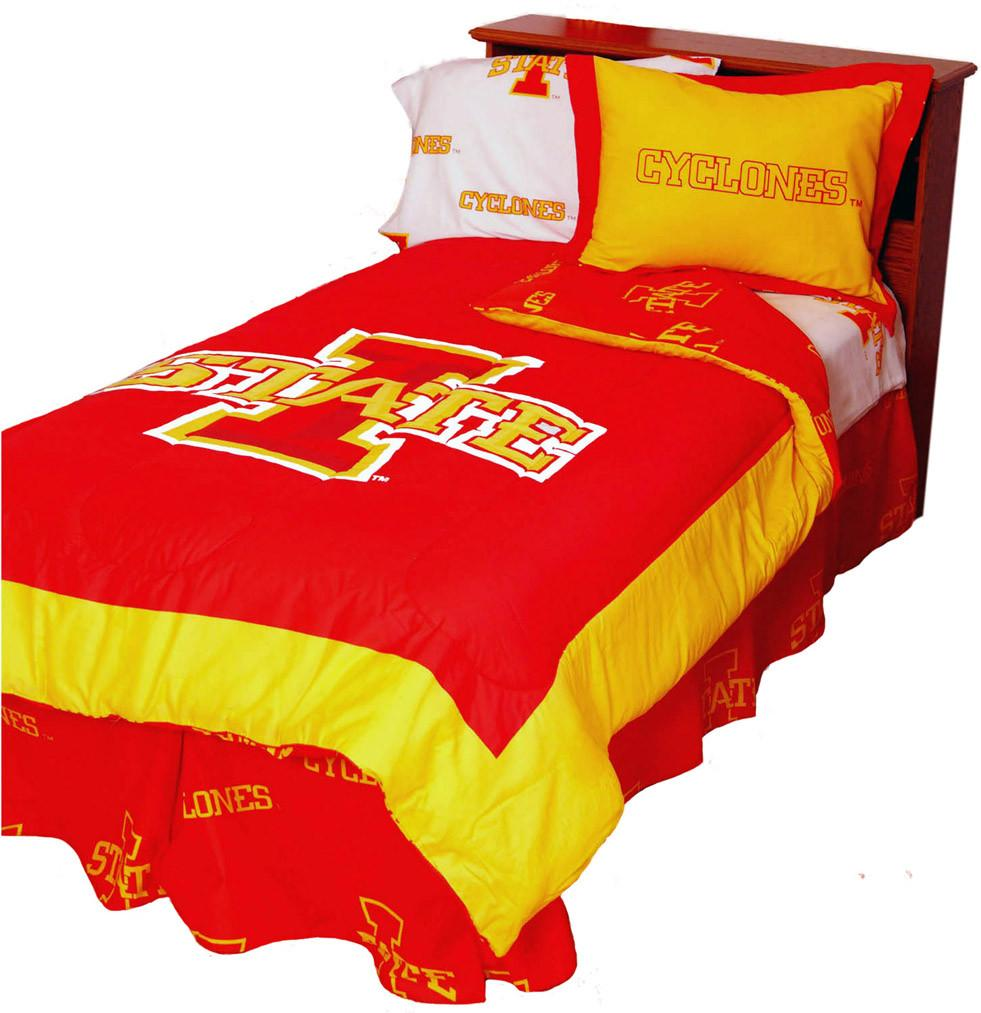 Iowa State Reversible Comforter Set -Full - ISUCMFL by College Covers from College Covers