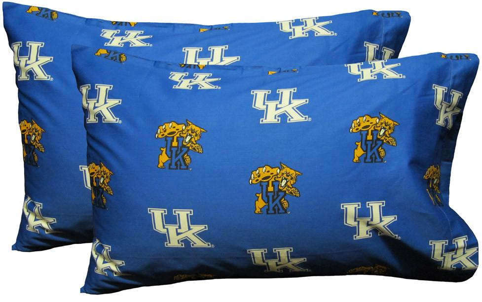 Kentucky Printed Pillow Case - (Set of 2) - Solid - KENPCSTPR by College Covers from College Covers