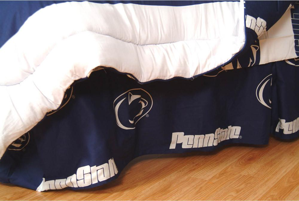 Penn State Printed Dust Ruffle Full  - PSUDRFL by College Covers from College Covers