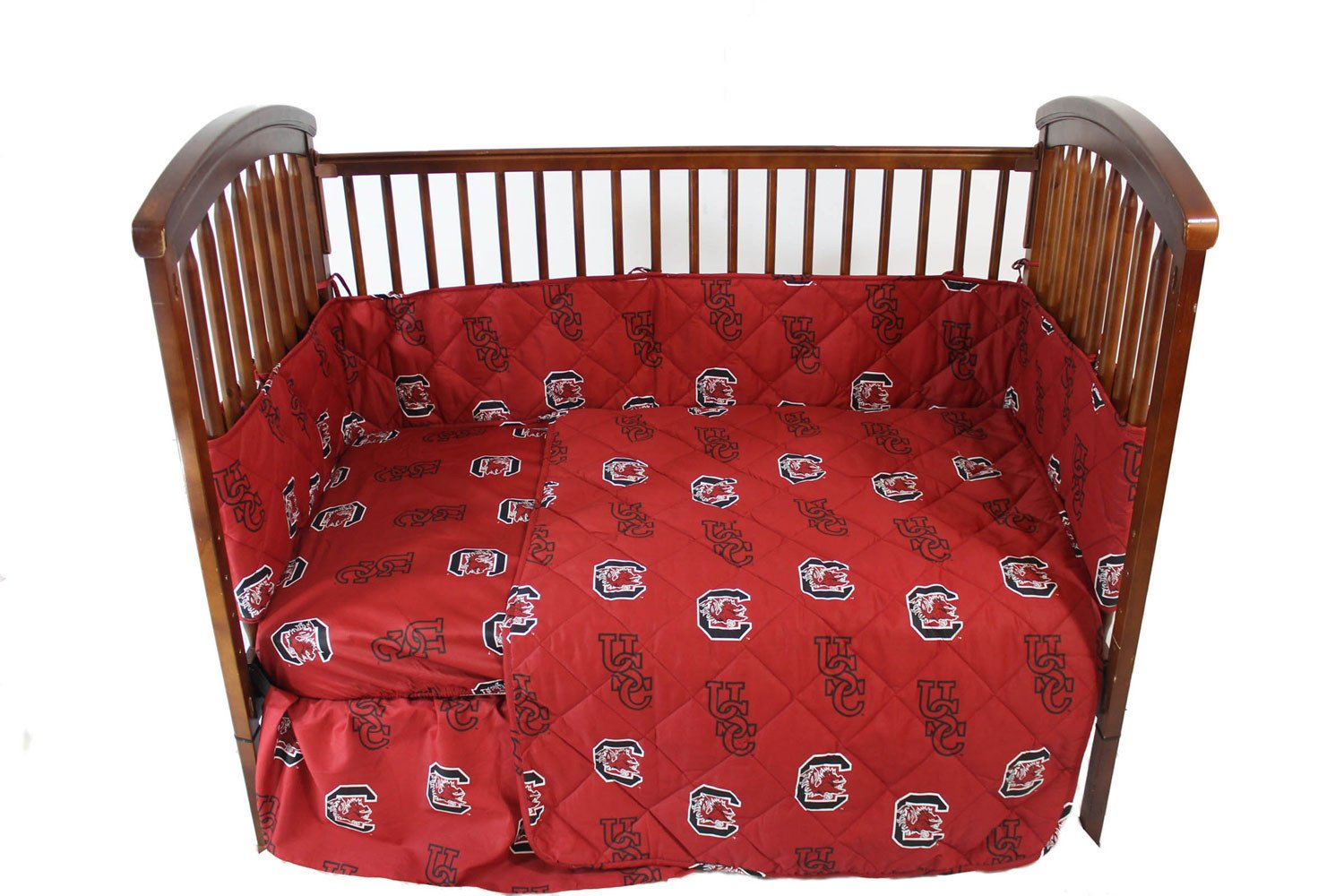 South Carolina 5 piece Baby Crib Set  - SCUCS by College Covers from College Covers