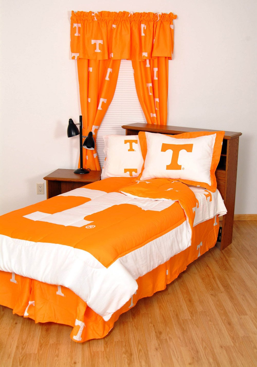 Tennessee Bed in a Bag King - With White Sheets - TENBBKGW by College Covers from College Covers