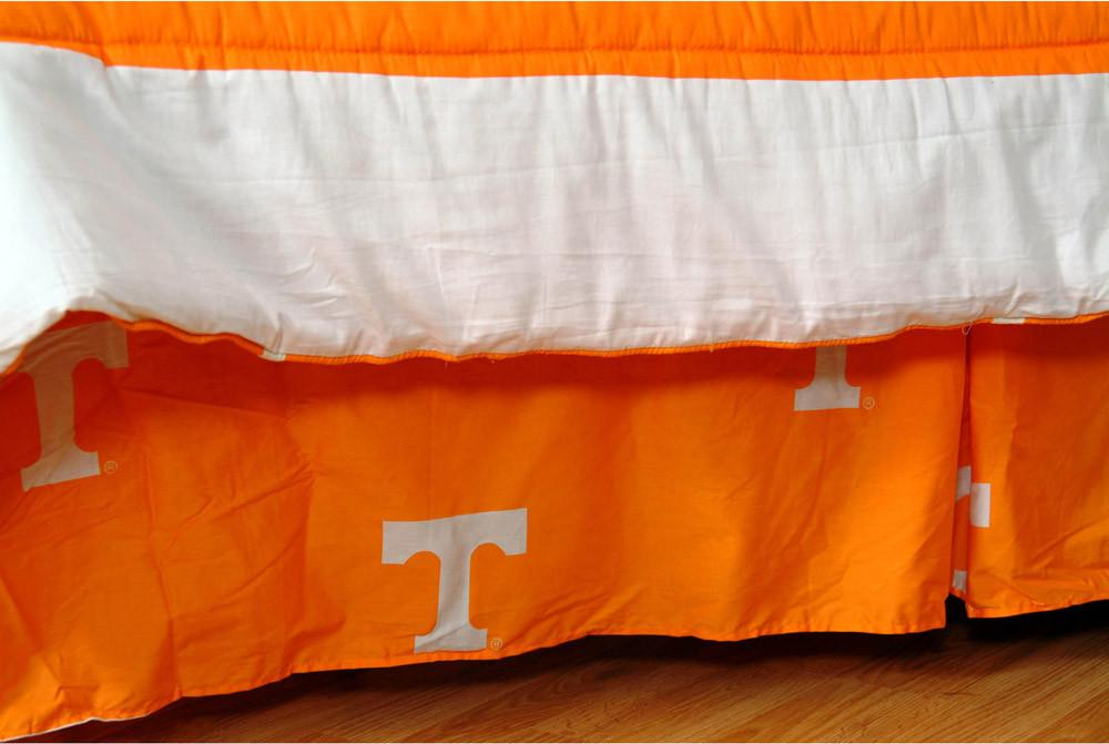 Tennessee Printed Dust Ruffle King - TENDRKG by College Covers from College Covers