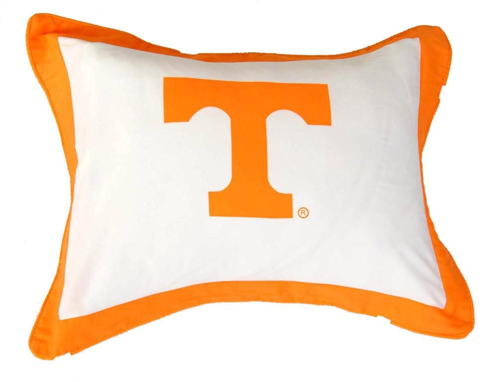Tennessee Printed Pillow Sham - TENSH by College Covers from College Covers