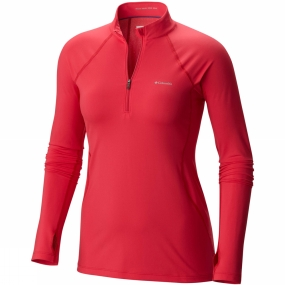 Women's Midweight Stretch Long Sleeve Half Zip from Columbia