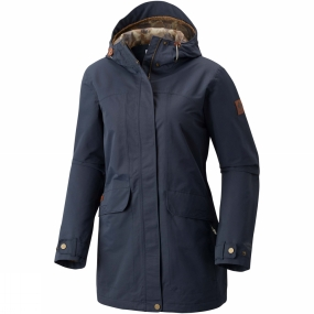 Womens South Canyon Long Hooded Jacket from Columbia