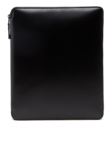 Comme Des Garcons Luxury Leather iPad Case in Black from Comme Des Garcons
