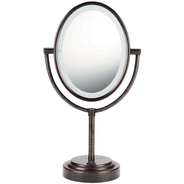 Conair BE47BR Double-Sided Lighted Mirror (Oiled Bronze) from Conair