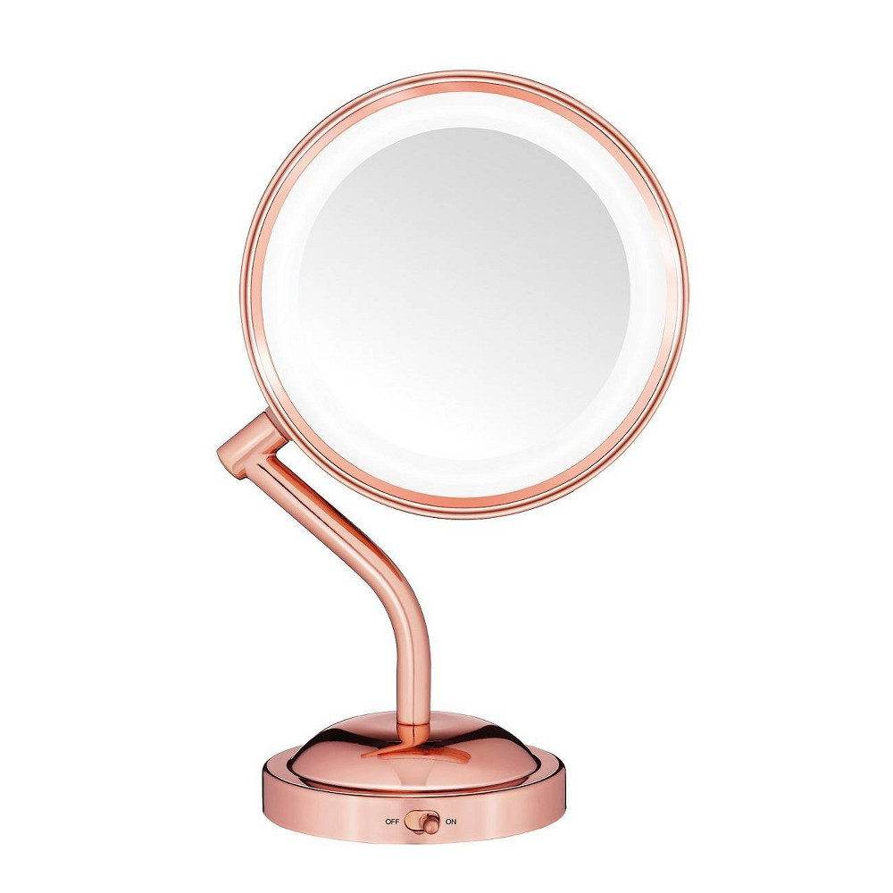 Conair Rose Gold Rotating Mirror - 5x Magnification from Conair