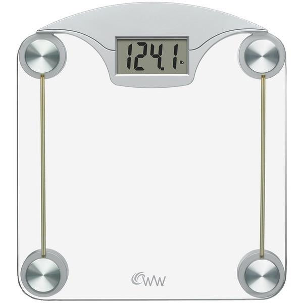 Conair WW39 Weight Watchers Digital Glass & Chrome Scale from Conair