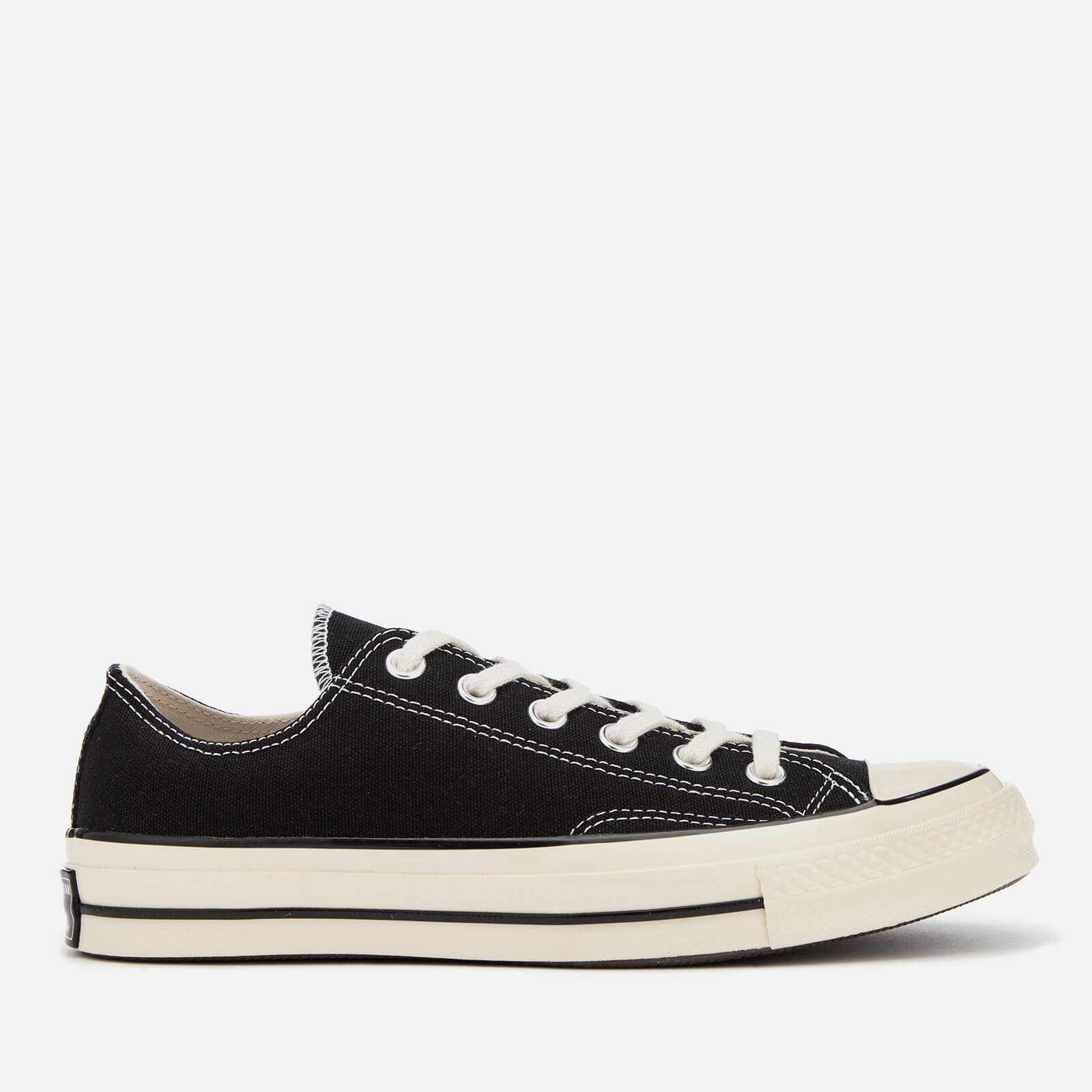 Converse Chuck 70 Ox Trainers - Black/Black/Egret - UK 8 - Black from Converse