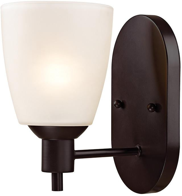 Cornerstone 1351WS/10 Jackson 1 Light Sconce In Oil Rubbed Bronze from Cornerstone