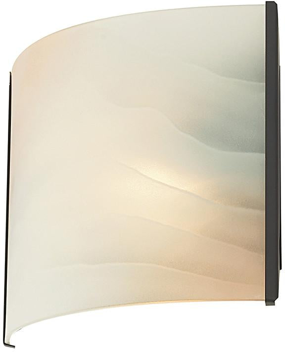Cornerstone 5271WS/10 1 Light Sconce In Oil Rubbed Bronze And Honey Alabaster Glass from Cornerstone