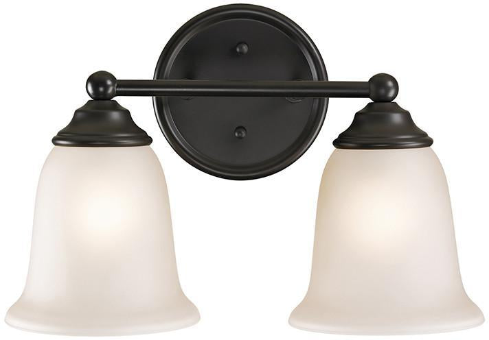 Cornerstone 5652BB/10 Sudbury 2 Light Bathbar In Oil Rubbed Bronze from Cornerstone