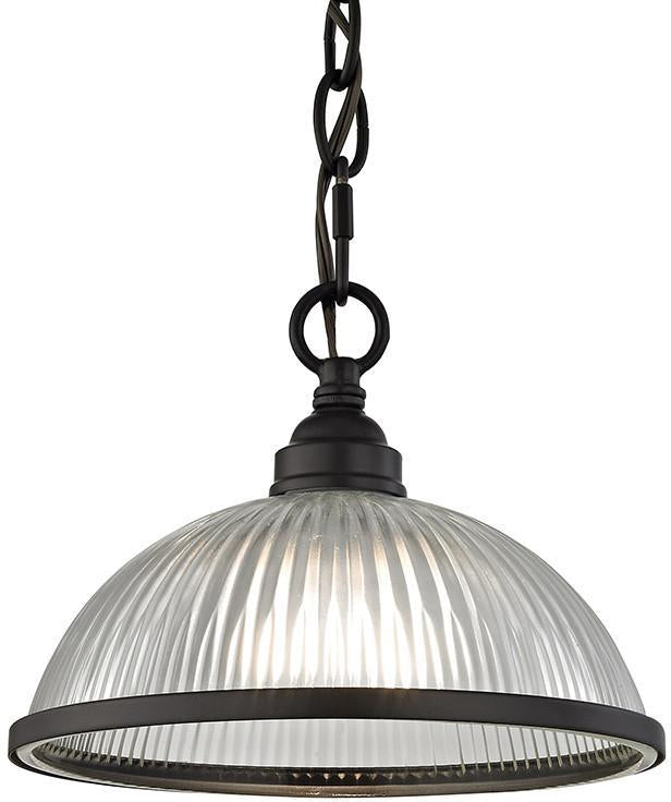 Cornerstone 7661PS/10 Liberty Park 1 Light Pendant In Oil Rubbed Bronze from Cornerstone