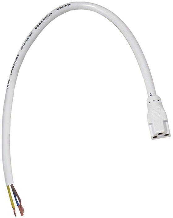 Cornerstone A330LL/40 Aurora Flexible Connector In White from Cornerstone