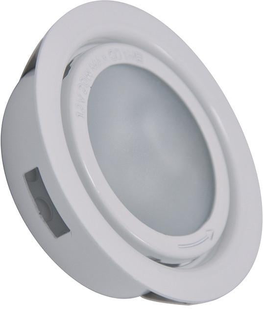 Cornerstone A710DL/40 Aurora 1 Light Recessed Disc Light In White from Cornerstone
