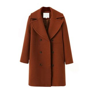 Double-Breasted Woolen Coat from Coronini
