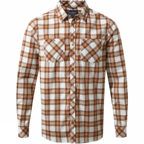 Mens Andreas Long Sleeve Check Shirt from Craghoppers